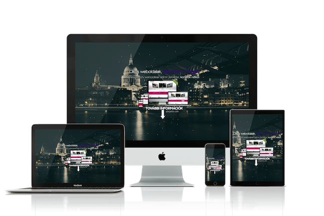 Reszponzív weboldal