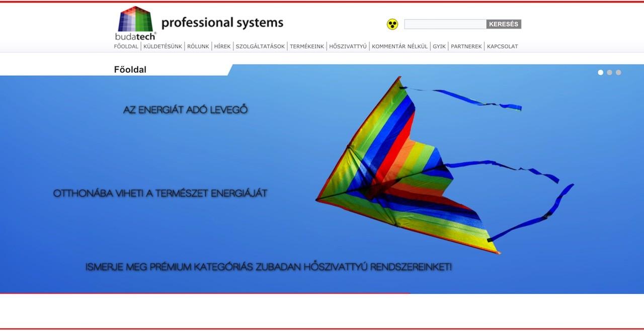 budatech-2 Weboldal készítés világszínvonalon