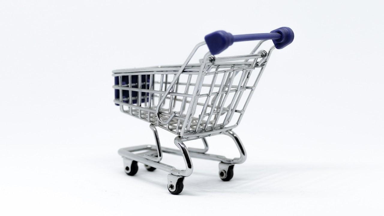 cart indoors metal