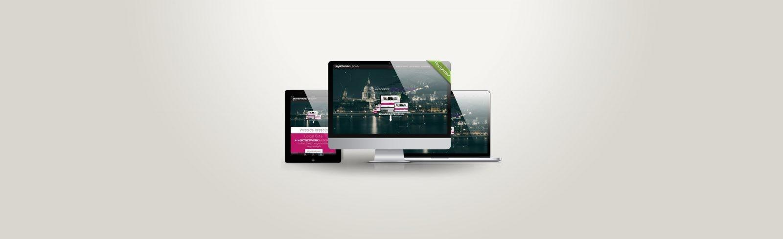 p2 Gazdaságos weboldal készítés