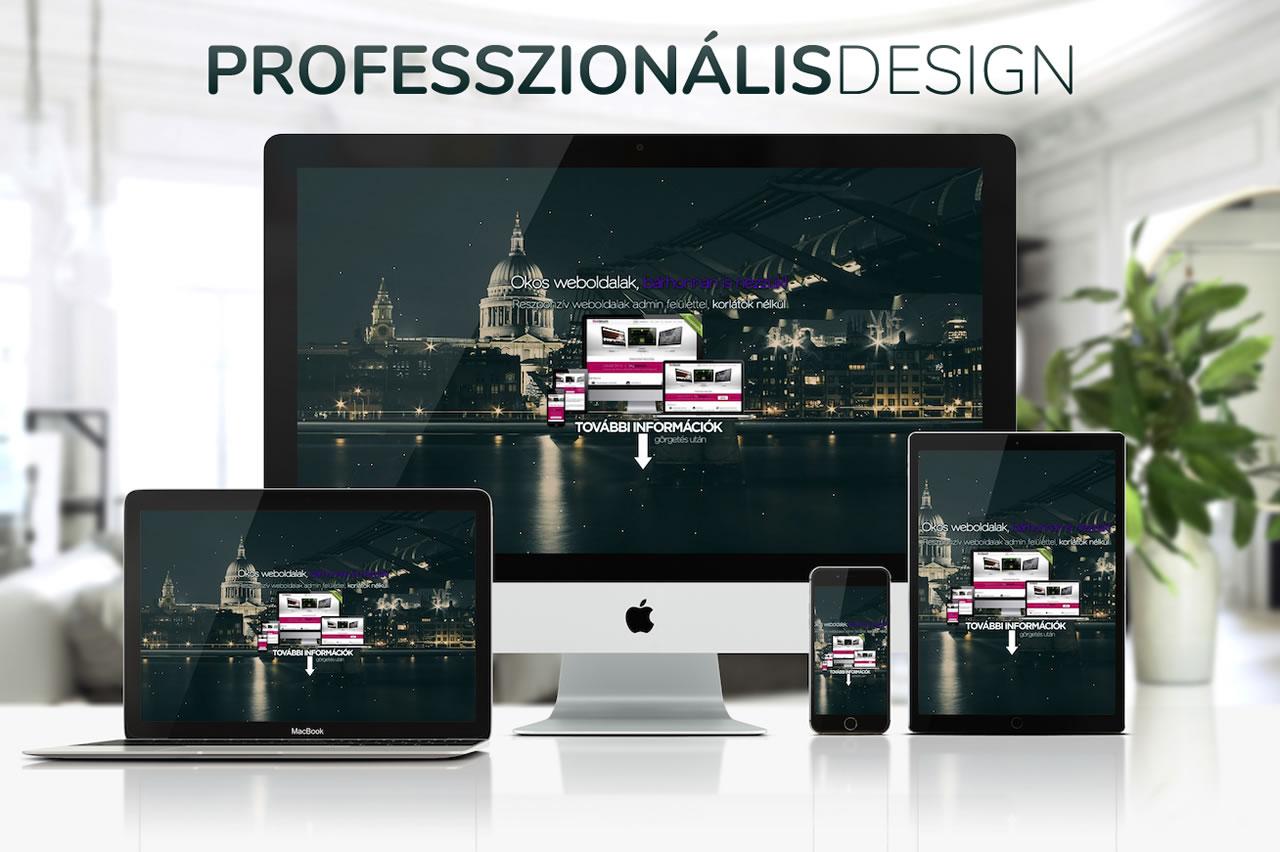 profi-design Gazdaságos weboldal készítés