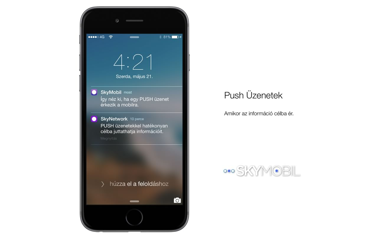 push02 Mobil alkalmazások