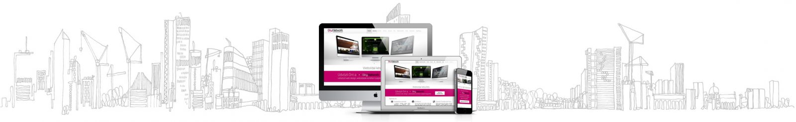skyline-skynetwork Gazdaságos weboldal készítés