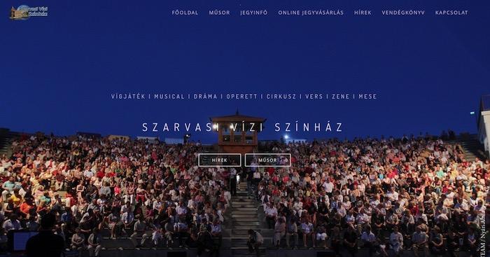 szarvasi-vizi-szinhaz-3 Weboldal készítés világszínvonalon